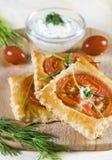 Pastelaria de sopro do aperitivo imagem de stock royalty free