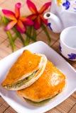 Pastelaria de sopro do pão fotografia de stock