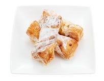 Pastelaria de sopro doce Fotos de Stock Royalty Free