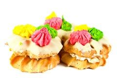 Pastelaria decorada doce imagem de stock