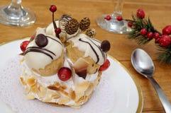 Pastelaria dos Choux Fotografia de Stock