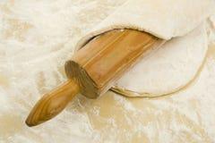 Pastelaria e rolamento-pino Fotografia de Stock Royalty Free