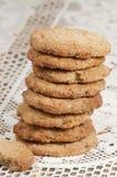 Pastelaria (farinha de aveia) Fotografia de Stock