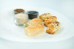 Pastelaria fresca com ingredientes Fotografia de Stock Royalty Free