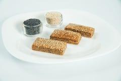 Pastelaria fresca com ingredientes Imagens de Stock Royalty Free