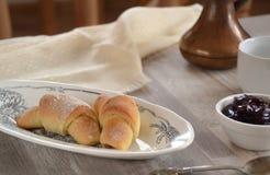 Pastelaria fresca da manhã Foto de Stock