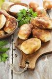Pastelaria fritada com batata Imagens de Stock Royalty Free