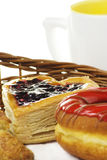 Pastelaria fruity doce Fotos de Stock