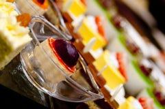 Pastelaria ocidental do restaurante Foto de Stock Royalty Free