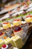 Pastelaria ocidental do restaurante Foto de Stock