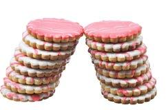 Pastelaria saboroso de duas torres Foto de Stock