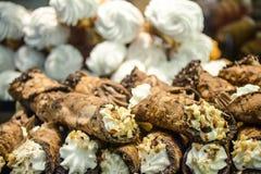 Pastelaria siciliano Fotografia de Stock