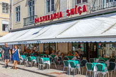 Pastelaria Suíça, Lisbon Stock Photography
