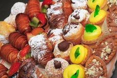 Pastelarias Imagens de Stock