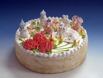 Pastelarias, bolo, saboroso, doce, Fotos de Stock Royalty Free