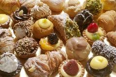 Pastelarias, foto completa do quadro imagem de stock royalty free
