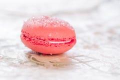 Pastelarias francesas de Macarons Imagem de Stock