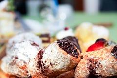 Pastelarias italianas Fotografia de Stock Royalty Free