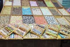 Pastelarias marroquinas Fotografia de Stock