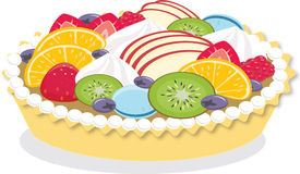 Pastelería sabrosa, pasteles, empanada, torta Ilustración del Vector
