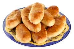 Pasteles cocidos al horno Fotografía de archivo libre de regalías
