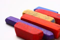 Pasteles coloreados de la tiza Fotos de archivo libres de regalías