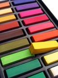 Pasteles coloridos del artista Fotografía de archivo libre de regalías