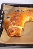 Pasteles con el centro del atasco del ciruelo Imagen de archivo