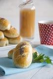 Pasteles con la patata Imagen de archivo libre de regalías