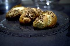 Pasteles con las semillas Imagen de archivo