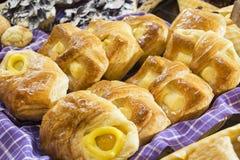 Pasteles daneses Foto de archivo libre de regalías