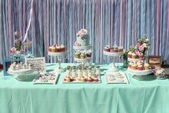 Pasteles de bodas Fotos de archivo