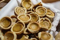 Pasteles de calabaza Imagenes de archivo