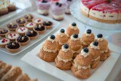 Pasteles de la American National Standard de la torta Fotografía de archivo libre de regalías