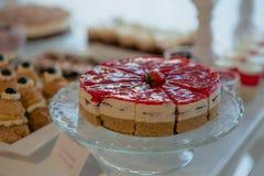 Pasteles de la American National Standard de la torta Imagen de archivo libre de regalías