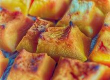 Pasteles de la calabaza Foto de archivo