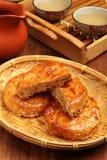 Pasteles de la carne Imagen de archivo libre de regalías