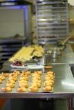Pasteles de la cocina fotos de archivo libres de regalías