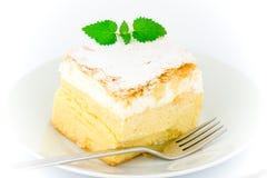 Pasteles de la crema y de las natillas Imagen de archivo