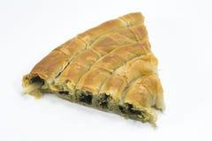 Pasteles de la espinaca, börek de ıspanaklı Fotos de archivo