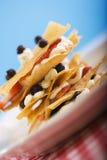 Pasteles de la fruta Imagen de archivo libre de regalías