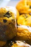 Pasteles de mirada deliciosos Foto de archivo