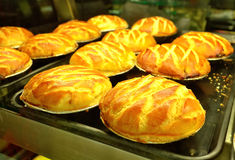 Pasteles de soplo Foto de archivo libre de regalías