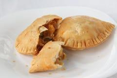 Pasteles de soplo del curry Foto de archivo libre de regalías