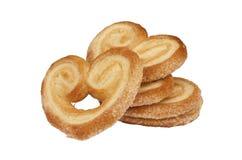 Pasteles de soplo dulces Imagen de archivo libre de regalías