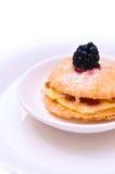 Pasteles de Wildberry Imagen de archivo libre de regalías