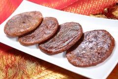 Pasteles del arroz de la samba de la samba adhirasam/Mappillai de Mappillai Fotos de archivo libres de regalías