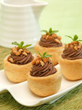 Pasteles del chocolate Imagen de archivo