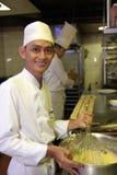 Pasteles del cocinero Imágenes de archivo libres de regalías