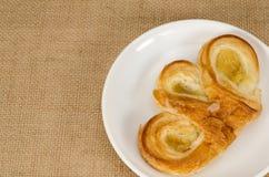 Pasteles del danés de la piña Fotos de archivo libres de regalías